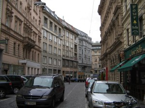Streetscape in Vienna